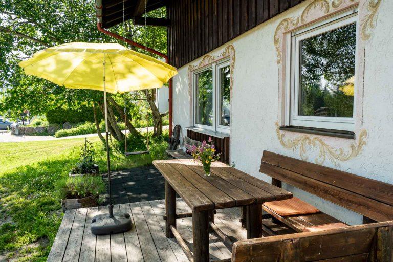 Ferienhaus Haus Bausch in Balderschwang im Sommer